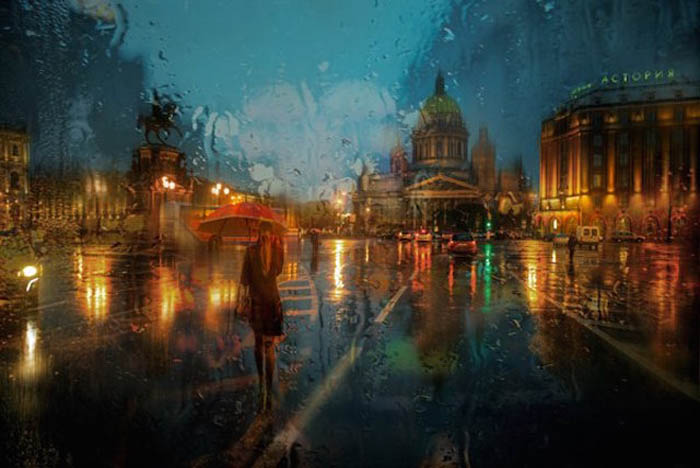 Атмосферные фотографии Петербурга от Эдуарда Гордеева.