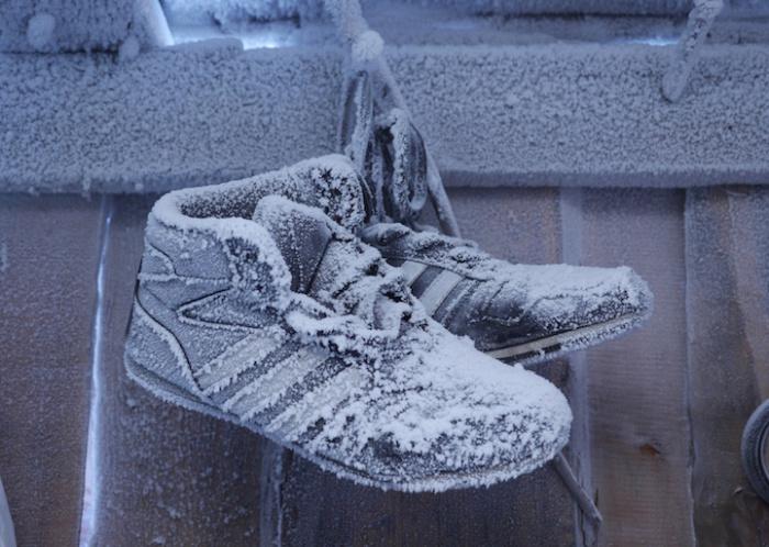 Один из Полюсов холода на снимках Amos Chapple.