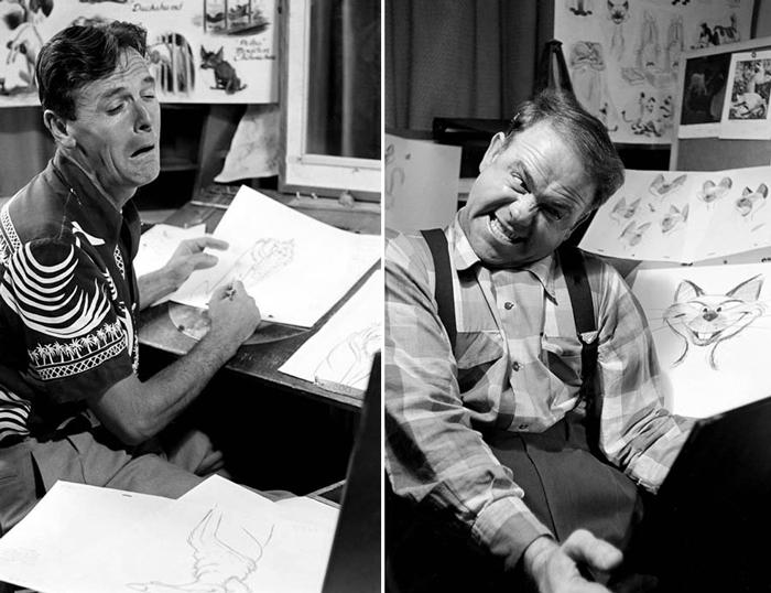 Иллюстраторы Disney рисуют своих персонажей.