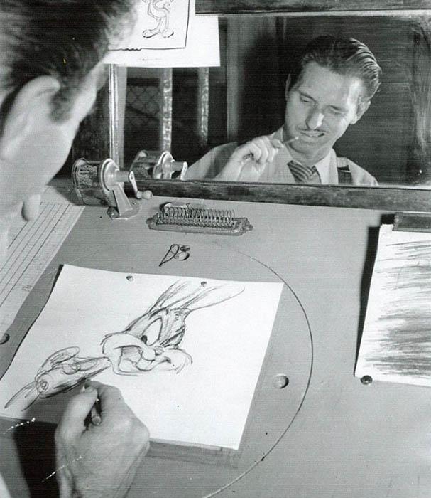 Фото художников-аниматоров.