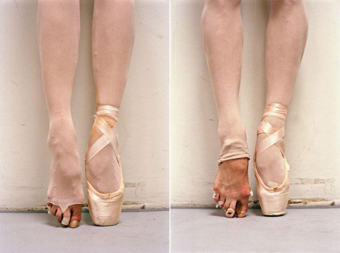 Балерины за сценой от Henry Leutwyler.
