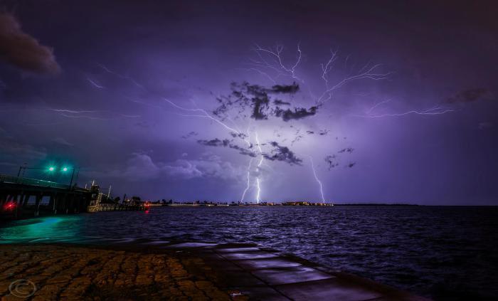 Грозовое небо во Флориде.