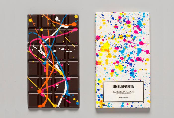 Креативный шоколад от UNELEFANTE.