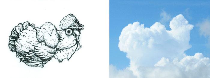 Фигуры в облаках от Martin Feijoo.