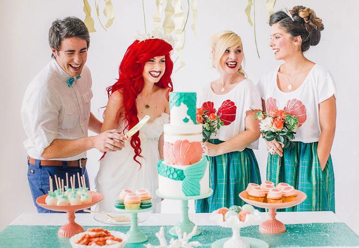 Свадьба в стиле Диснея.