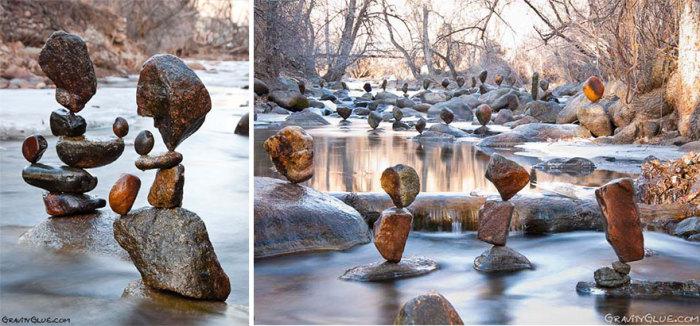 Камни, бросающие вызов законам гравитации.