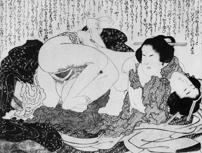 Рисунки Кацусика Хокусай.
