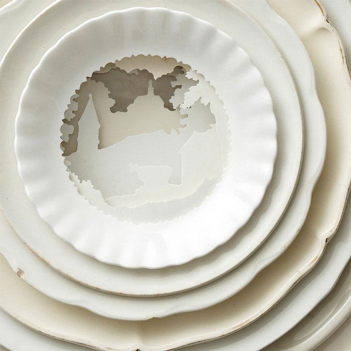 Композиции из керамики.