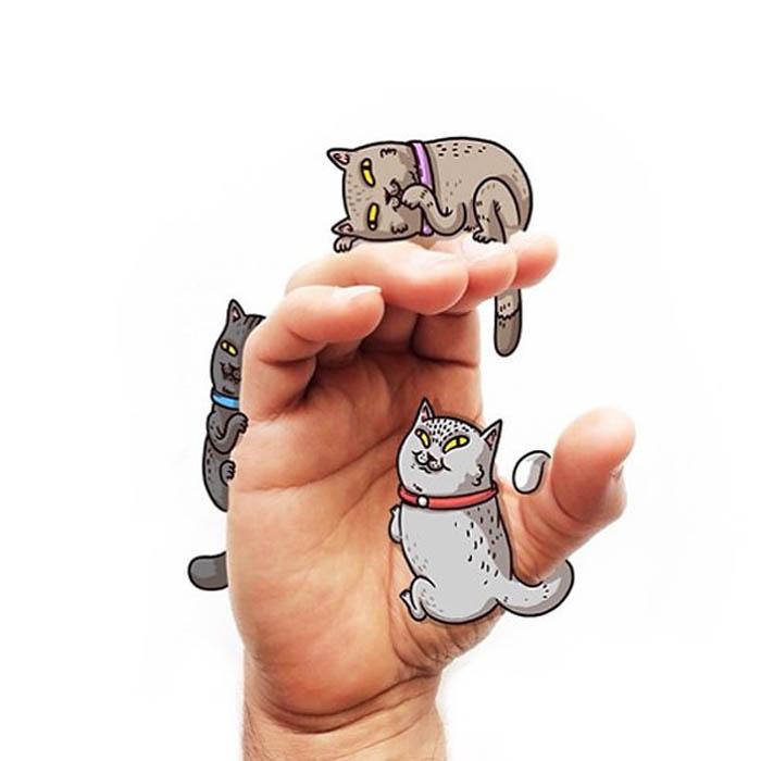 Cats- буква C.