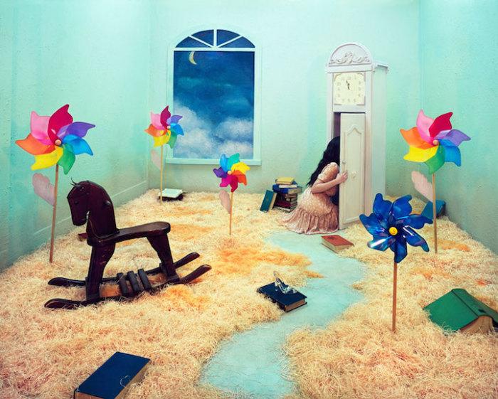 Удивительно сказочные фотографии от корейской художницы.
