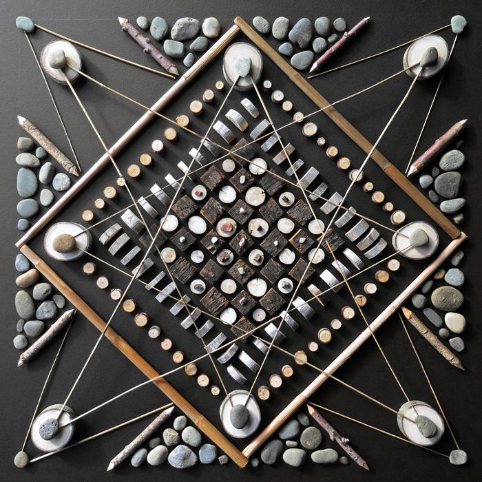 Креативные мандалы из природных материалов.