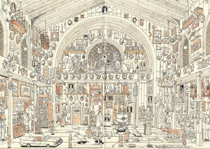 Потрясающие рисунки Mattias Adolfsson.