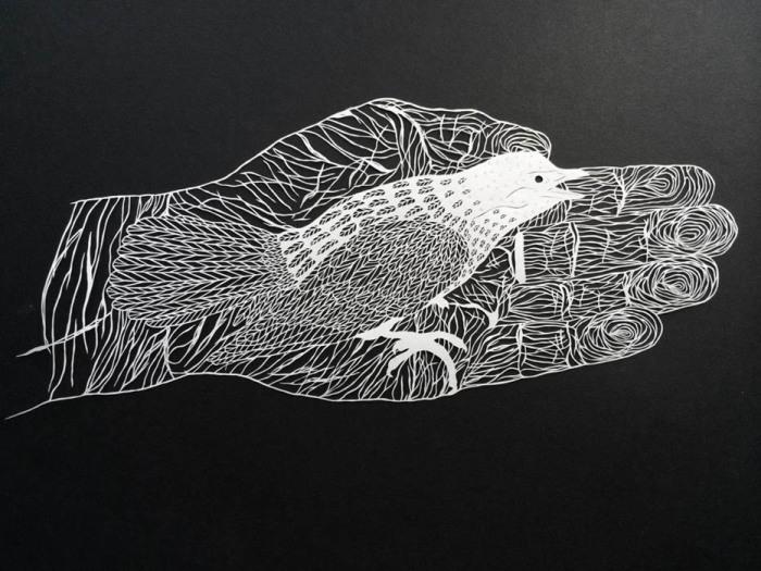 Бумажное творчество от Maude White.