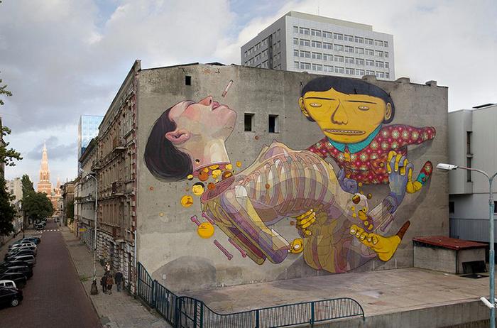Стрит-арт от Aryz.