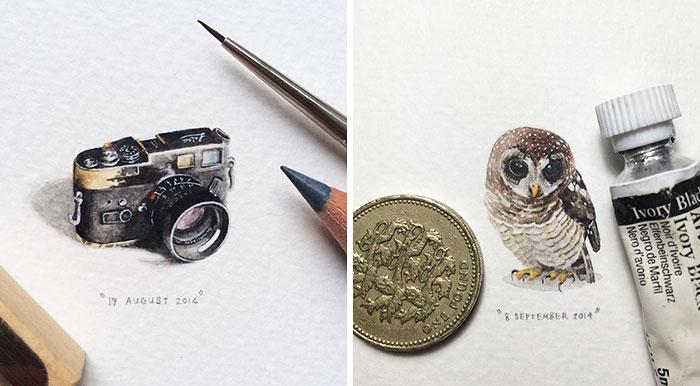 Чудесные миниатюры от Lorraine Loots.