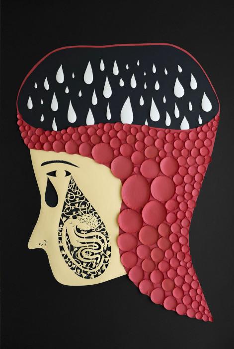 Бумажный арт от Elsa Mora.