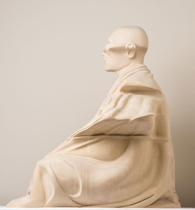 Деревянные скульптуры от Paul Kaptein.