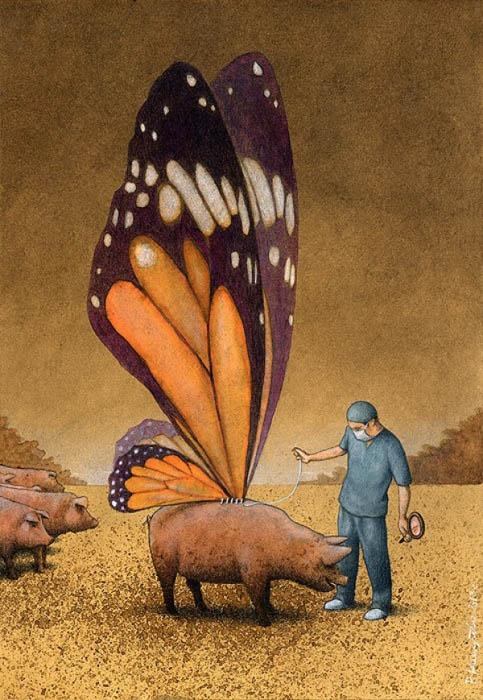 Карикатуры Павла Кучински.