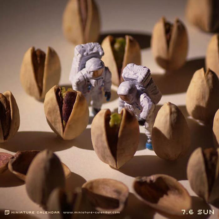 Миниатюрные сценки от Tanaka Tatsuya.