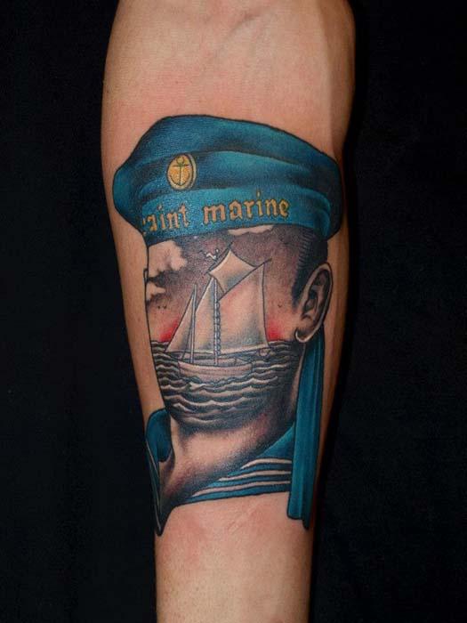 Современные необычные татуировки.