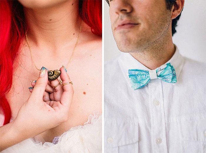 Аксессуары жениха и невесты.