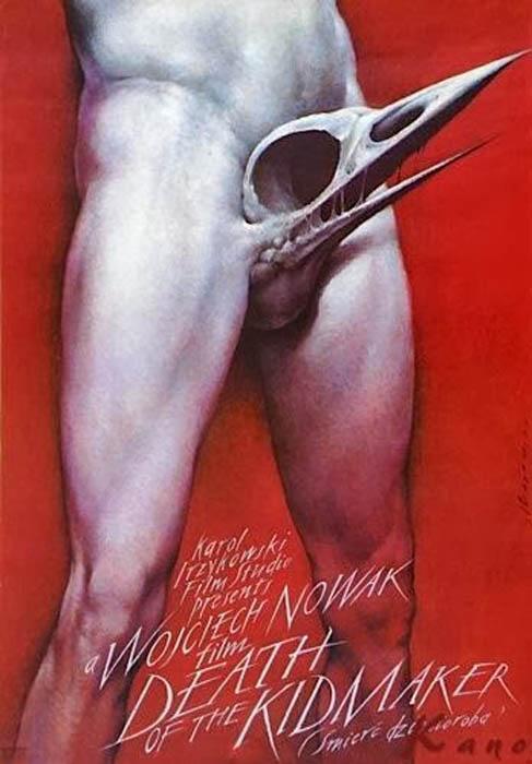 Нестандартные и мистические афиши польского художника.