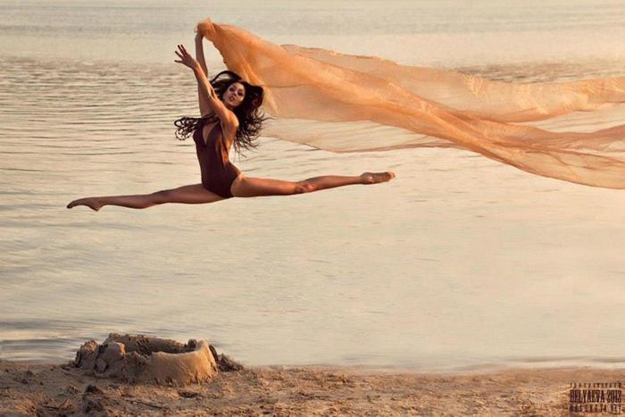Невесомость танца в идеальном мире