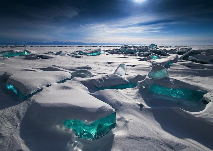 Озеро Байкал, Сибирь, Россия.