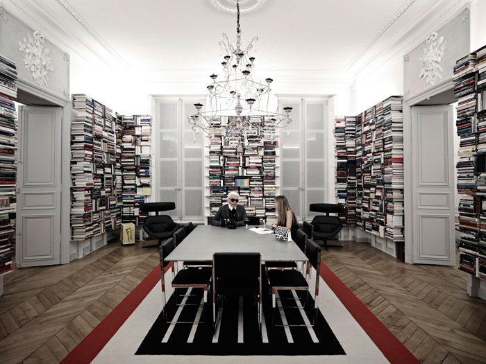 Karl Lagerfeld: искусство беспорядка.
