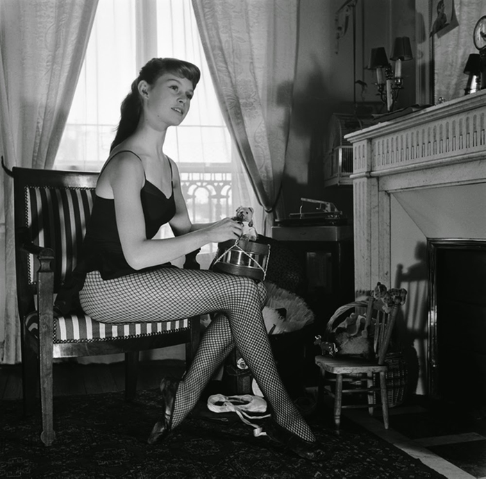 Фотосессия молодой Бриджит Бордо. Фото: Walter Carone.