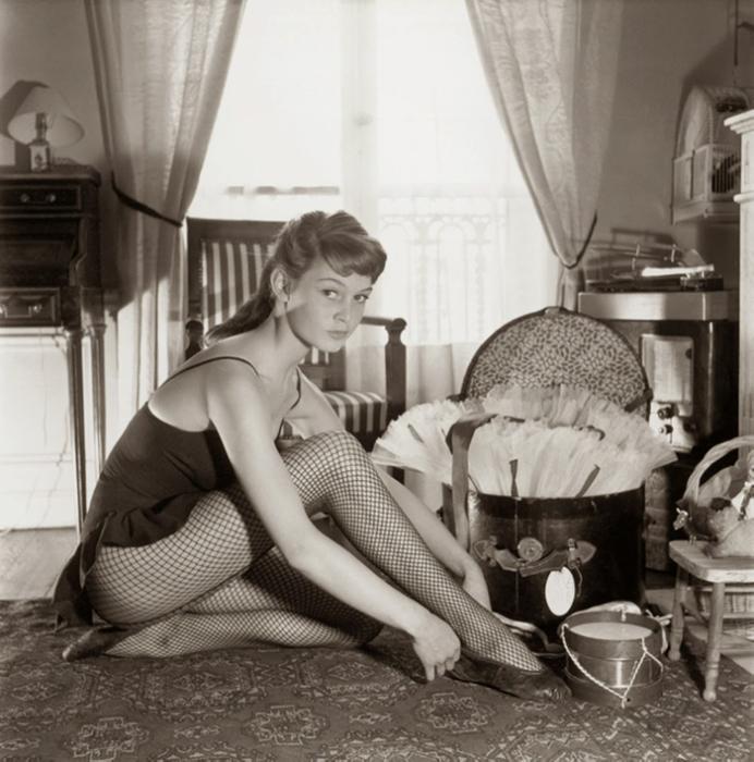 1952 год, Бриджит Бардо. Фото: Walter Carone.