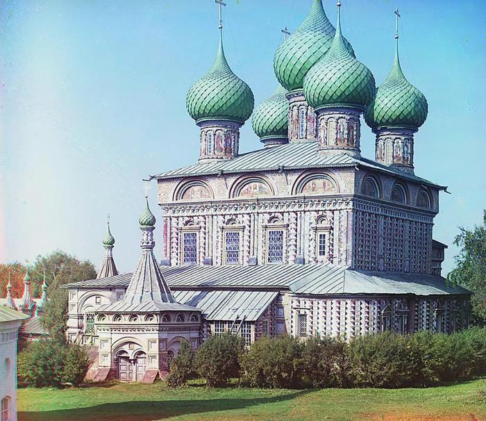 Церковь Воскресения на дебрях.