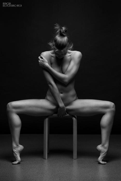 Черно-белые портреты. Автор фото: Anton Belovodchenko.