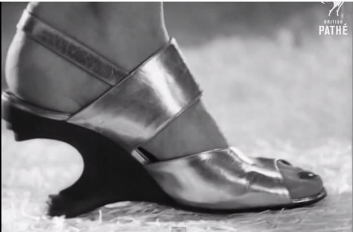Туфли выглядят довольно стильно даже сегодня.