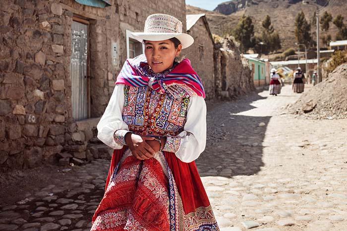 Долина Колка, Перу.
