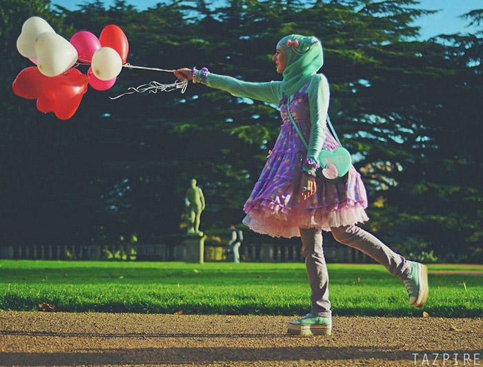 Лолиты в хиджабе.