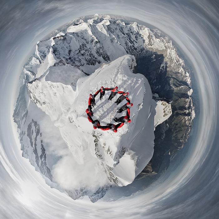 Ради хорошего снимка не жалко и подняться на гору.