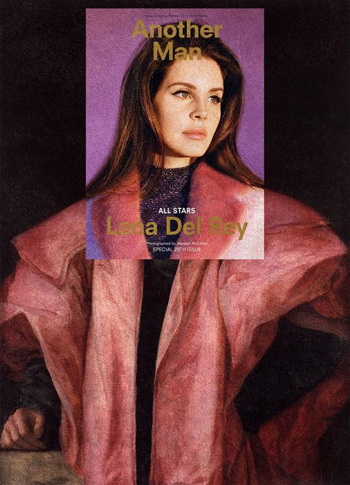 Лана дель Рей + *Youth in a Pink Coat* Джакопо Понтормо.