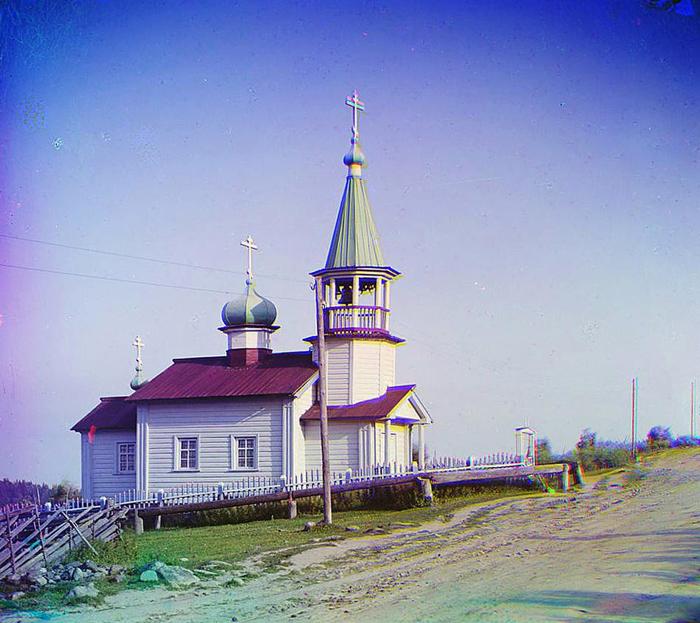 Церковь в селе Шайдома.