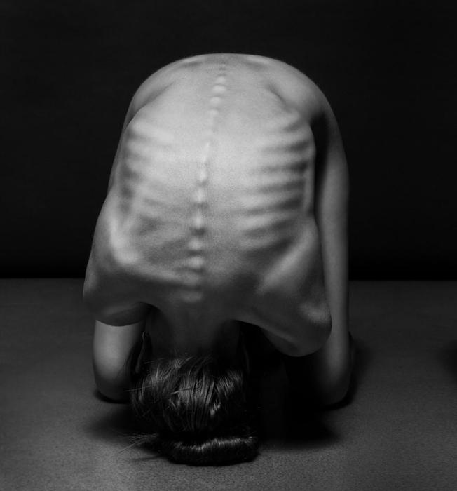 Пейзажи человеческого тела. Автор фото: Anton Belovodchenko.