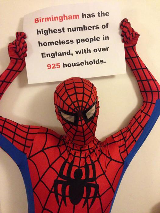 В Бирмингеме самое высокое число бездомных в Англии.