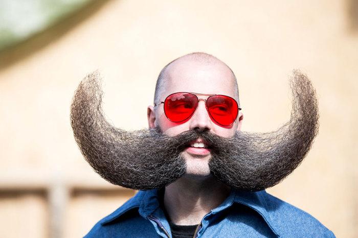 Чемпионат мира усов и бород 2015.