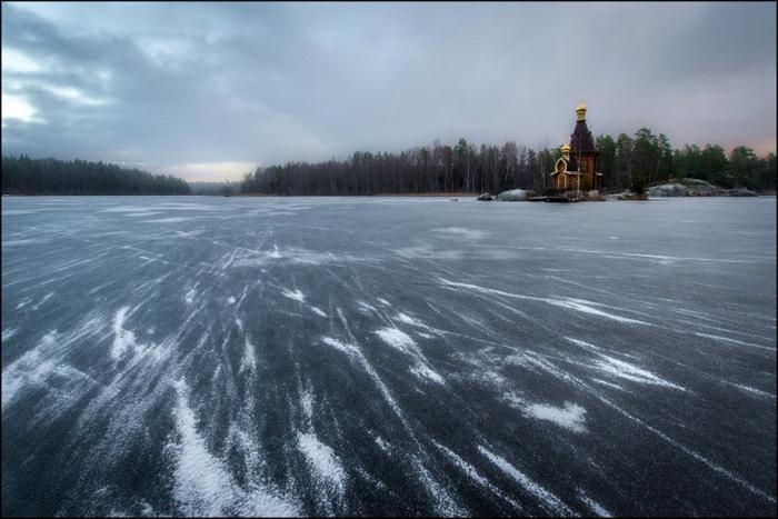 Река Вуокса.