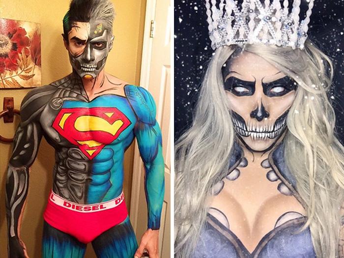 Киборг Супермен и Белая Королева.