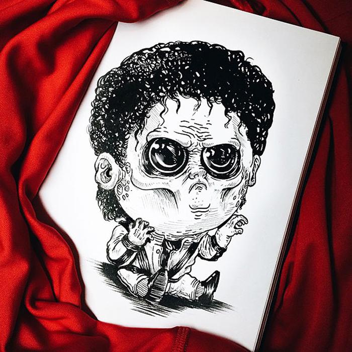 Малыш Зомби-Триллер.
