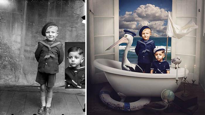 All hands on deck - новая жизнь фотографий Костикэ Аксинте.