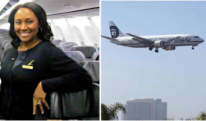 Стюардесса спасла девочку от серьезных проблем.