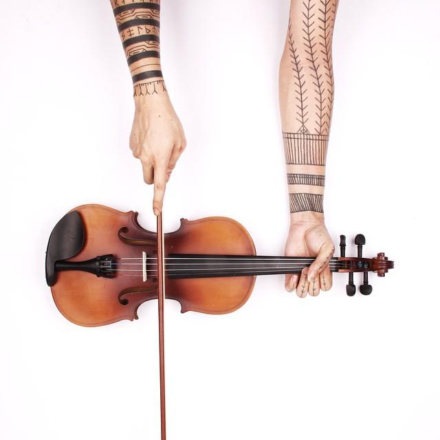 Песня скрипки.
