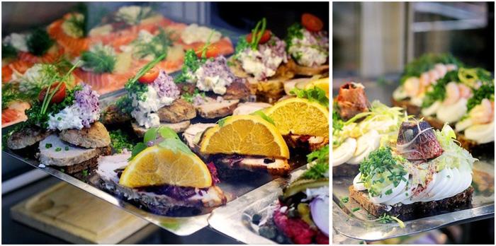 Бутерброды Smoerrebroed считаются типичной датской едой.