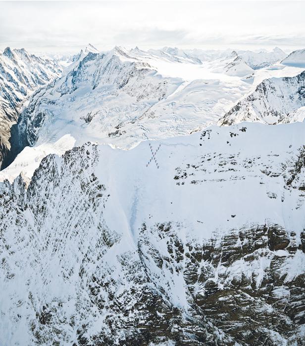 Фотосессия на горе Маттерхорн.